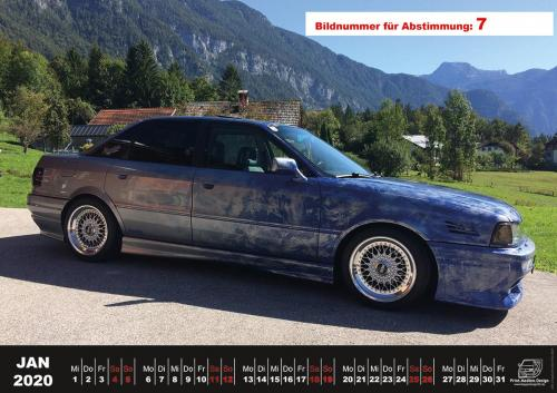 Audi-80-Fan-Kalender2020 Voting 07