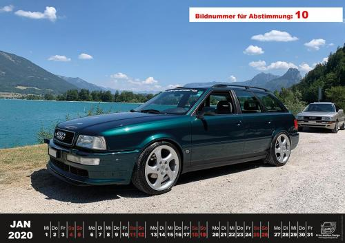 Audi-80-Fan-Kalender2020 Voting 10