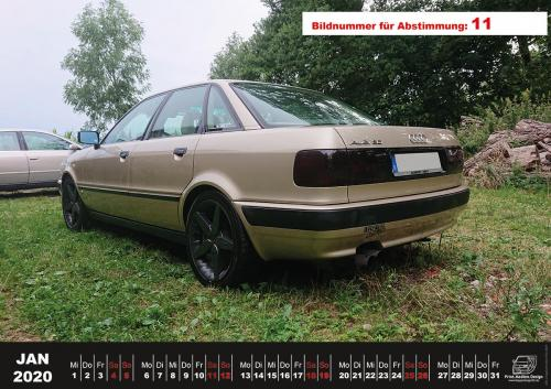Audi-80-Fan-Kalender2020 Voting 11