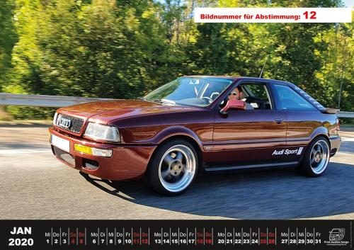 Audi-80-Fan-Kalender2020 Voting 12