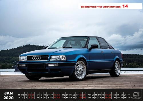 Audi-80-Fan-Kalender2020 Voting 14