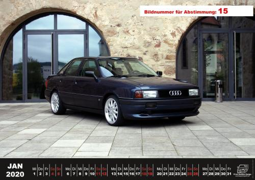 Audi-80-Fan-Kalender2020 Voting 15