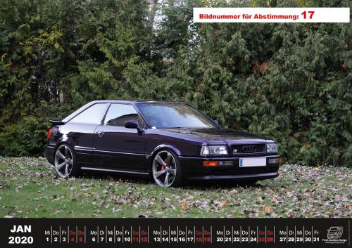 Audi-80-Fan-Kalender2020 Voting 17