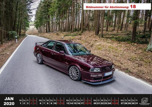 Audi-80-Fan-Kalender2020 Voting 18