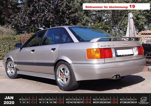 Audi-80-Fan-Kalender2020 Voting 19