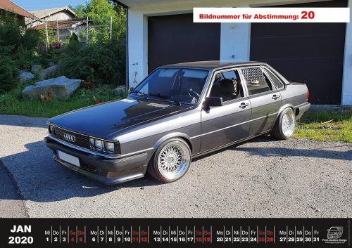 Audi-80-Fan-Kalender2020 Voting 20