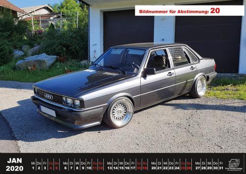 Audi-80-Fan-Kalender2020 Voting 20