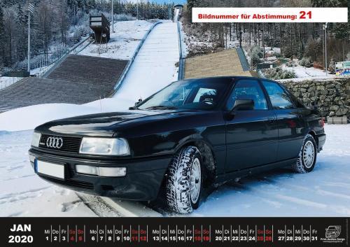 Audi-80-Fan-Kalender2020 Voting 21
