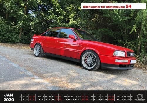 Audi-80-Fan-Kalender2020 Voting 24