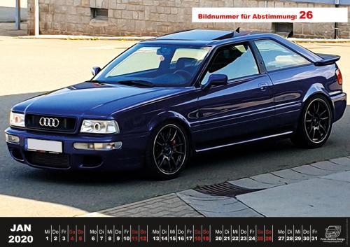 Audi-80-Fan-Kalender2020 Voting 26