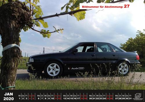 Audi-80-Fan-Kalender2020 Voting 27