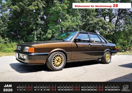 Audi-80-Fan-Kalender2020 Voting 28