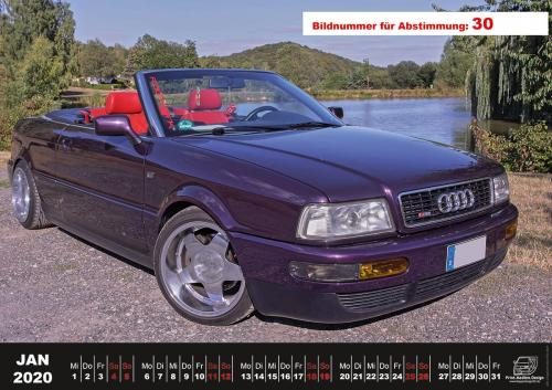 Audi-80-Fan-Kalender2020 Voting 30