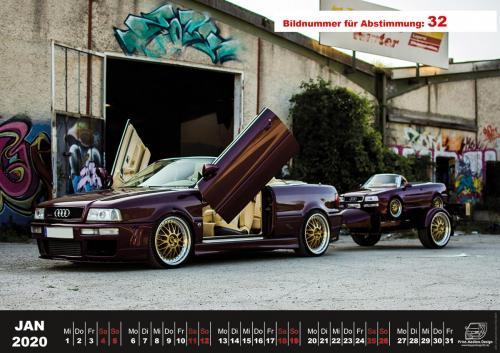 Audi-80-Fan-Kalender2020 Voting 32