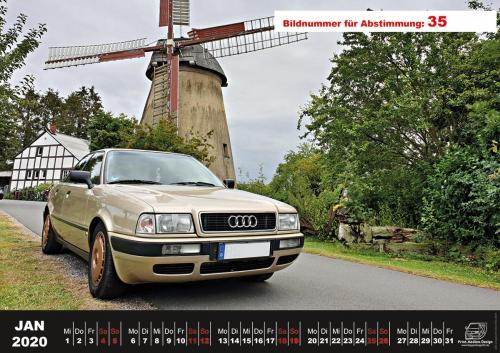 Audi-80-Fan-Kalender2020 Voting 35