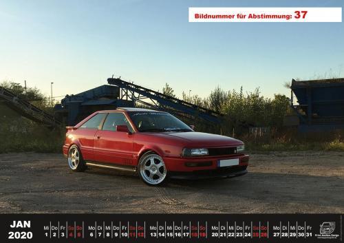 Audi-80-Fan-Kalender2020 Voting 37