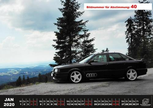 Audi-80-Fan-Kalender2020 Voting 40