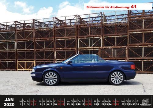 Audi-80-Fan-Kalender2020 Voting 41