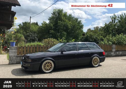 Audi-80-Fan-Kalender2020 Voting 42