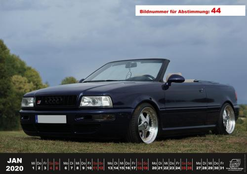 Audi-80-Fan-Kalender2020 Voting 44