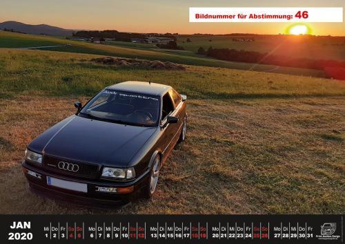 Audi-80-Fan-Kalender2020 Voting 46