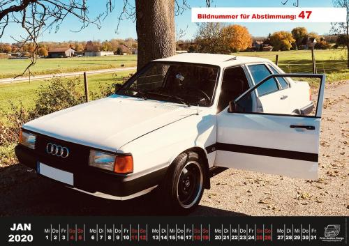 Audi-80-Fan-Kalender2020 Voting 47