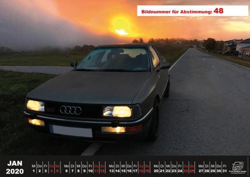 Audi-80-Fan-Kalender2020 Voting 48