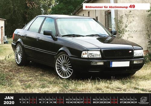 Audi-80-Fan-Kalender2020 Voting 49