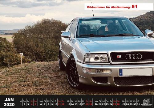 Audi-80-Fan-Kalender2020 Voting 51