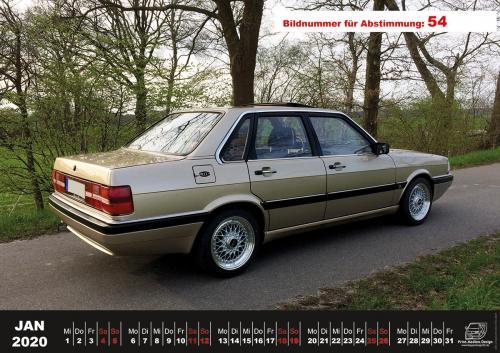 Audi-80-Fan-Kalender2020 Voting 54