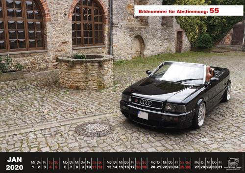 Audi-80-Fan-Kalender2020 Voting 55
