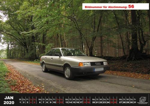 Audi-80-Fan-Kalender2020 Voting 56