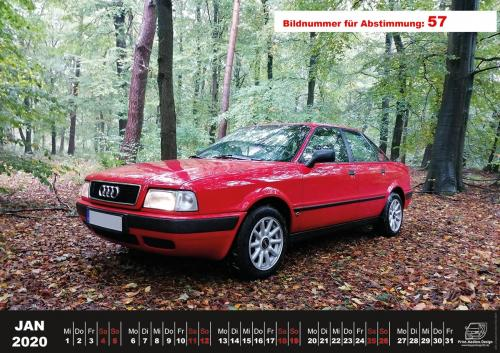 Audi-80-Fan-Kalender2020 Voting 57