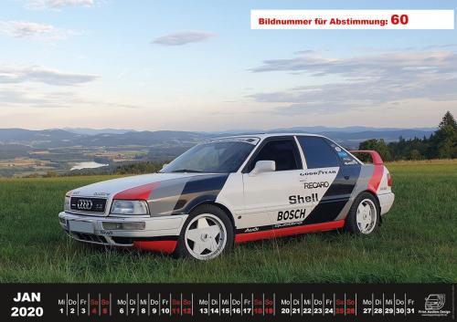 Audi-80-Fan-Kalender2020 Voting 60