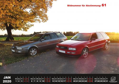 Audi-80-Fan-Kalender2020 Voting 61