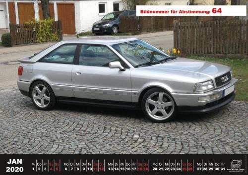 Audi-80-Fan-Kalender2020 Voting 64