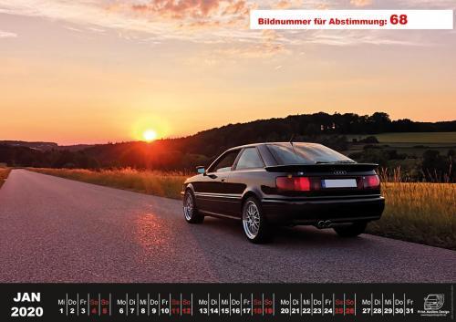 Audi-80-Fan-Kalender2020 Voting 68