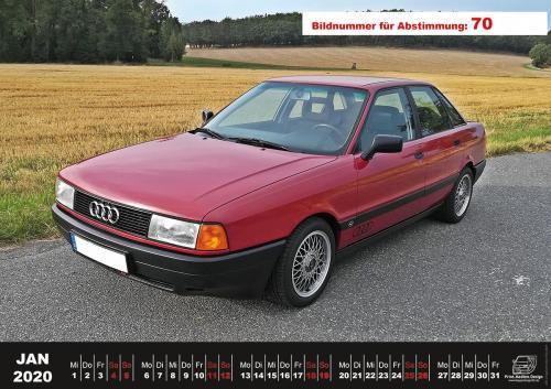 Audi-80-Fan-Kalender2020 Voting 70