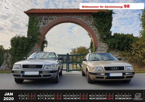 Audi-80-Fan-Kalender2020 Voting 98