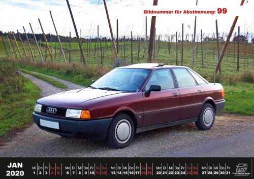 Audi-80-Fan-Kalender2020 Voting 99